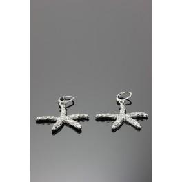 Náušnice Mořské hvězdice Swarovski ELEMENTS