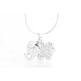 Slon s krystaly Swarovski