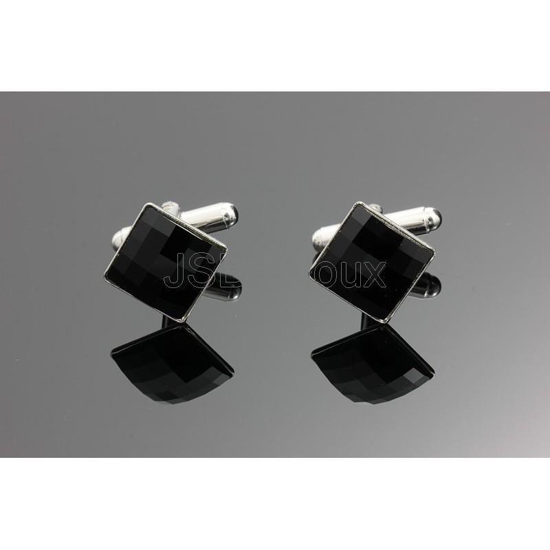 Manžetové knoflíčky Swarovski ELEMENTS Disco - BižuSvět - JSB Bijoux 51e504c90ab