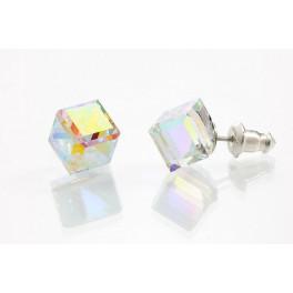 Náušnice zdobené křišťálovými kameny Swarovski® 10 mm