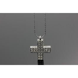 Náhrdelník Kříž Swarovski ELEMENTS