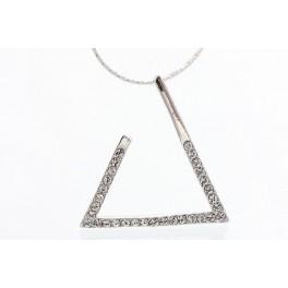 Trojúhelník Swarovski - vykládaný