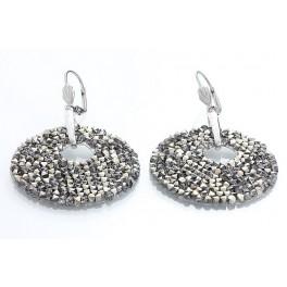 Náušnice Rocks zdobené křišťálovými kameny Swarovski®