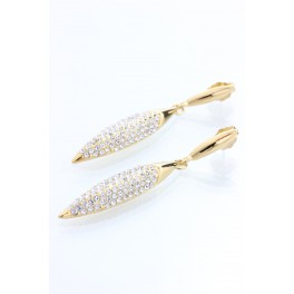 Visací náušnice zdobené křišťálovými kameny od společnosti Swarovski® XL