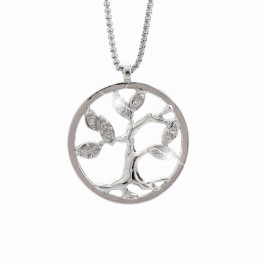 Náhrdelník Strom života s kameny Swarovski®
