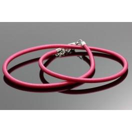 Tmavě růžový řetízek 47-51 cm