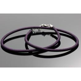 Fialový řetízek 47-51 cm