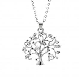 Náhrdelník Strom života s kameny Swarovski