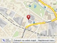 mapa kudy se dostanete k BižuSvět.cz